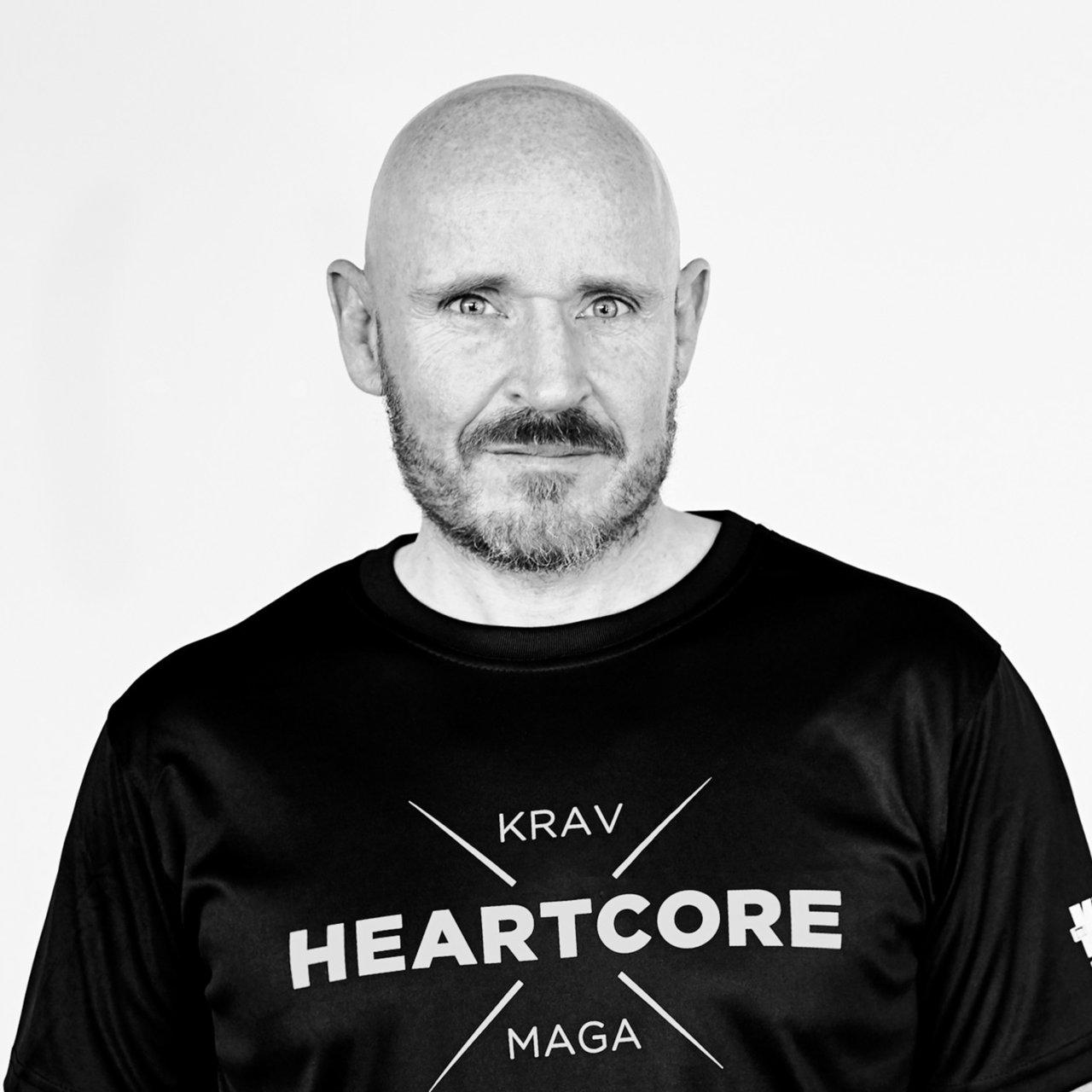 Portrait af Krav Maga chefinstruktør Joen Weidemann